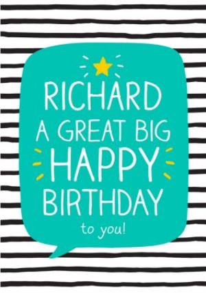 Greeting Cards - A Great Big Happy Birthday to you! - Image 1