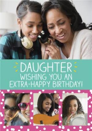 Greeting Cards - Birthday Card - Photo Upload - Daughter - Happy Jackson - Image 1