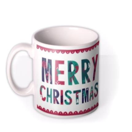 Mugs - Merry Christmas Lovely Mum Mug - Image 1