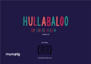 Greeting Cards - Hullabaloo Merry Christmas Personalised Card - Image 4