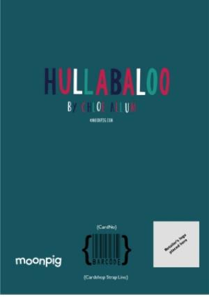 Greeting Cards - Hullabaloo Merry Christmas Husband Personalised Card - Image 4