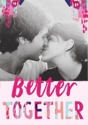 Greeting Cards - Better Together Photo Upload Card - Image 1