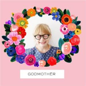 Greeting Cards - Mother's Day Card - Godmother - photo upload card - Image 1
