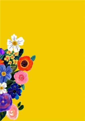 Greeting Cards - Birthday Card - Grandma - Floral Photo Upload Card - Image 2