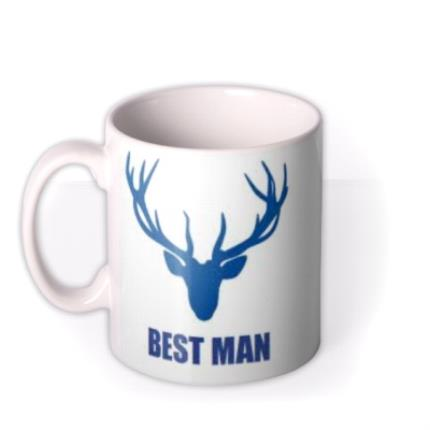 Mugs - The Best Man Personalised Mug - Image 1