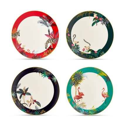 Gifts For Home - Sara Miller Tahiti Dinner Plate Gift Set - Image 3