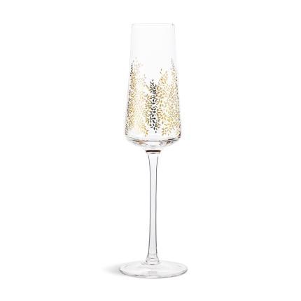 Gifts For Home - Sara Miller Gold Leaf Glass Set - Image 3