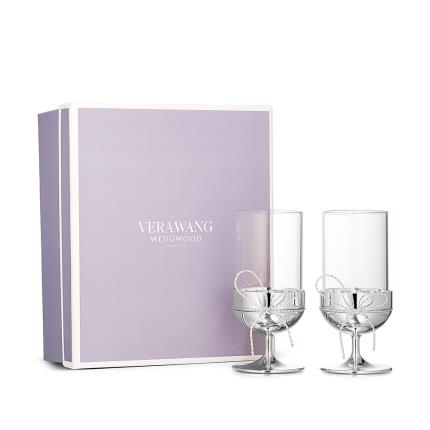 Gifts For Home - Vera Wang Love Knot Tealight Holders - Image 1