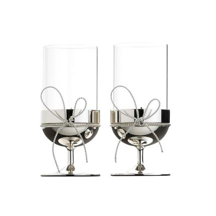 Gifts For Home - Vera Wang Love Knot Tealight Holders - Image 2