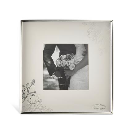 Gifts For Home - Silver Plated Photo Frame - Image 1
