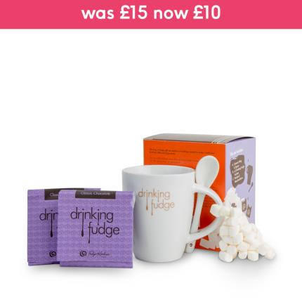 Food Gifts - Fudge Kitchen Mug of Fudge Gift Set - Image 1