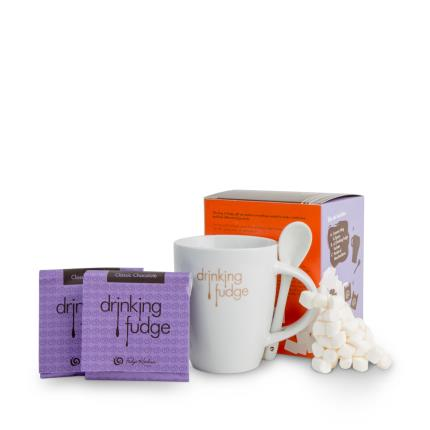 Food Gifts - Fudge Kitchen Mug of Fudge Gift Set - Image 2