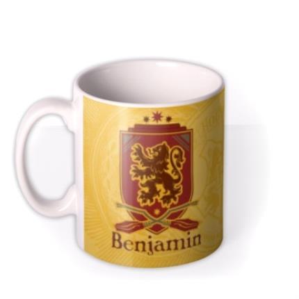 Mugs - Harry Potter Gryffindor Crest Personalised Mug - Image 1