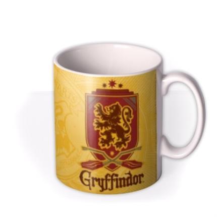 Mugs - Harry Potter Gryffindor Crest Personalised Mug - Image 2