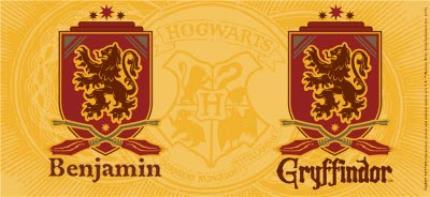 Mugs - Harry Potter Gryffindor Crest Personalised Mug - Image 4