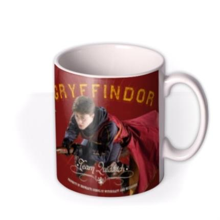 Mugs - Harry Potter Top Quidditch Player Personalised Mug - Image 2
