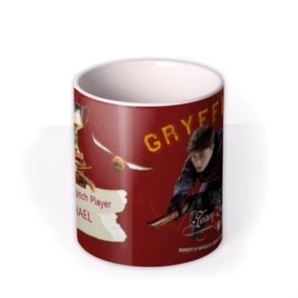 Mugs - Harry Potter Top Quidditch Player Personalised Mug - Image 3