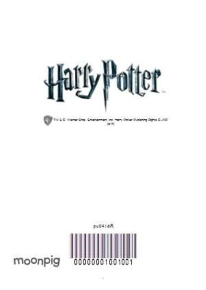 Greeting Cards - Harry Potter Gryffindor Crest Collage Personalised Birthday Card - Image 4