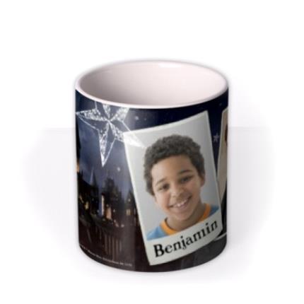 Mugs - Harry Potter Hogwarts Photo Upload Mug - Image 3
