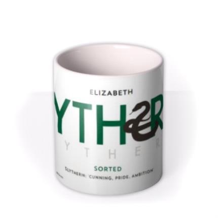 Mugs - Harry Potter Slytherin Mug - Image 3