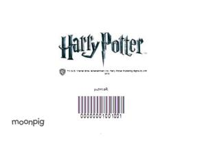 Greeting Cards - Harry Potter Magical Creatures Hedwig Personalised Birthday Card - Image 4