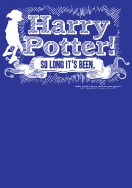 T-Shirts - Harry Potter Dobby So Long It's Been T-Shirt - Image 4