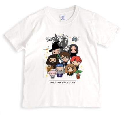 T-Shirts - Harry Potter Cartoon Characters Personalised T-Shirt  - Image 1