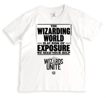T-Shirts - Harry Potter Wizards Unite Risk Of Exposure T-Shirt - Image 1