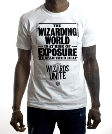T-Shirts - Harry Potter Wizards Unite Risk Of Exposure T-Shirt - Image 2