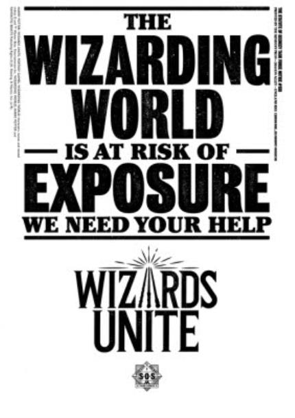 T-Shirts - Harry Potter Wizards Unite Risk Of Exposure T-Shirt - Image 4