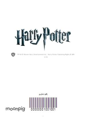 Greeting Cards - Harry Potter Magical Hogwarts Personalised Happy Birthday Card - Image 4