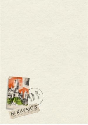 Greeting Cards - Harry Potter Photo upload birthday card - Hogwarts  - Image 2