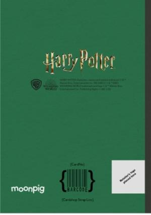 Greeting Cards - Harry Potter sorting hat card - Slytherin - Image 4