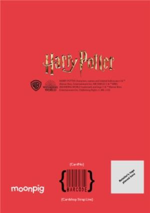Greeting Cards - Harry Potter Cartoon Anniversary Photo Upload Boyfriend Card - Image 4