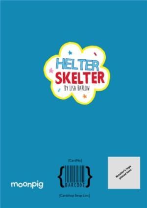 Greeting Cards - Helter Skelter Tiger Birthday Photo Upload Card - Image 4