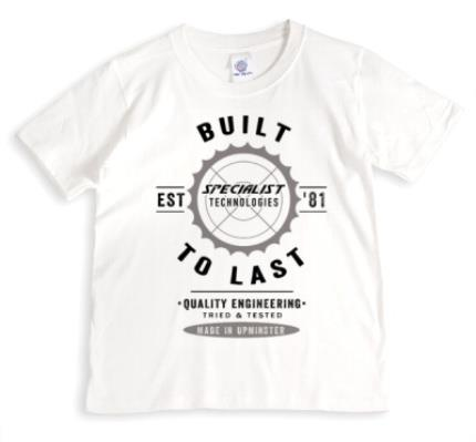 T-Shirts - Built To Last Personalised T-shirt - Image 1