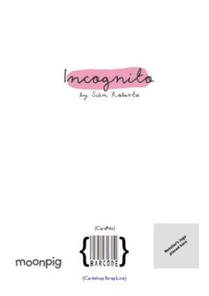 Greeting Cards - Incognito Unicorn Photo Upload Birthday Card - Image 4