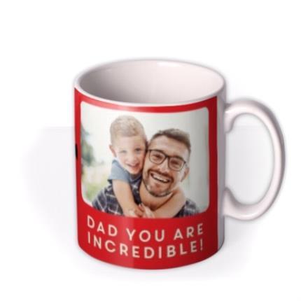 Mugs - Birthday Mug - Dad - The Incredibles 2 - Disney Pixar - photo upload mug - Image 2