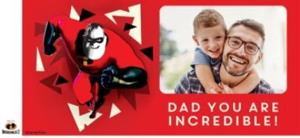 Mugs - Birthday Mug - Dad - The Incredibles 2 - Disney Pixar - photo upload mug - Image 4