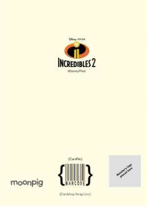 Greeting Cards - Birthday Card - Dad - The Incredibles 2 - Disney Pixar - Image 4