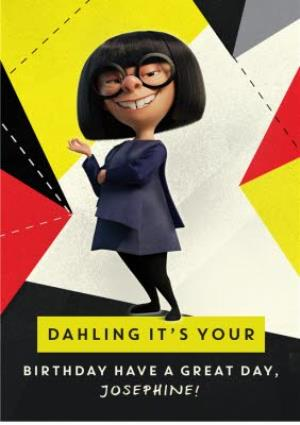 Greeting Cards - Birthday Card - The Incredibles 2 - Disney Pixar - Image 1