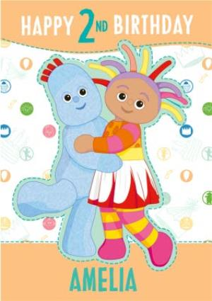 """Greeting Cards - In the Night Garden - Happy 2nd Birthday """"Amelia"""" - Image 1"""