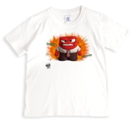 T-Shirts - Inside Out Anger Personalised T-shirt - Image 1