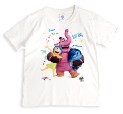 T-Shirts - Inside Out Joy Sadness Bing Bong Personalised T-shirt - Image 1