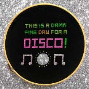 Greeting Cards - A Damn Fine Day For A Disco Personalised Happy Birthday Card - Image 1