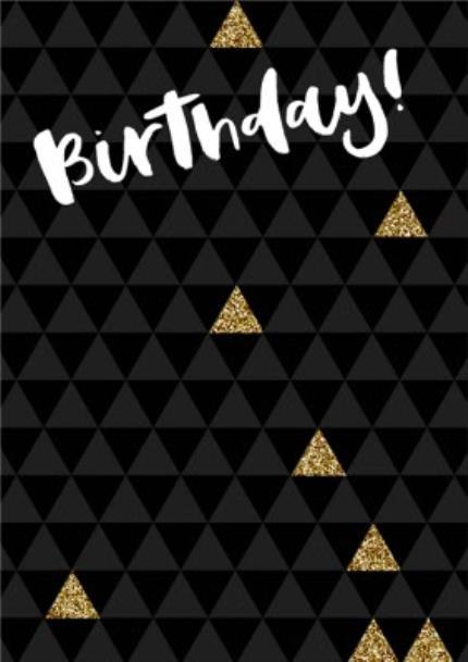 Greeting Cards - Metallic Gold Photo Upload Birthday Party Invitation - Image 2