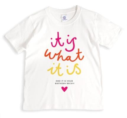 T-Shirts - Love Island It Is What It Is Birthday T-Shirt - Image 1