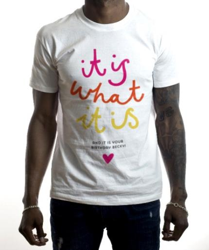 T-Shirts - Love Island It Is What It Is Birthday T-Shirt - Image 2