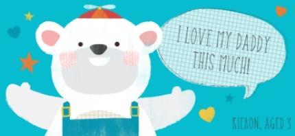 Mugs - I Love My Daddy This Much Polar Bear Personalised Mug - Image 4