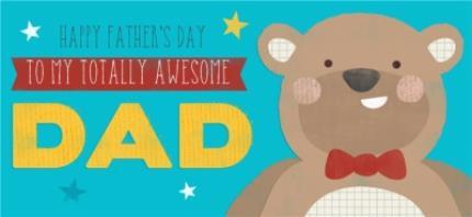 Mugs - Totally Awesome Dad Big Bear Personalised Mug - Image 4